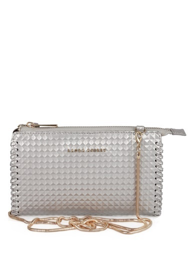 Laura Ashley Clutch / El Çantası Gümüş